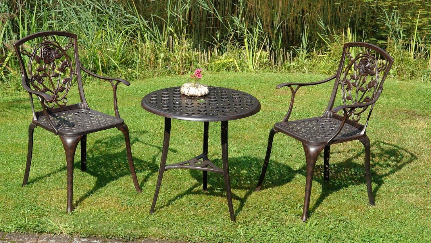 alu guss bistro set rose bronze batavia gartenm bel onlineshop f r hochwertige gartenm be. Black Bedroom Furniture Sets. Home Design Ideas
