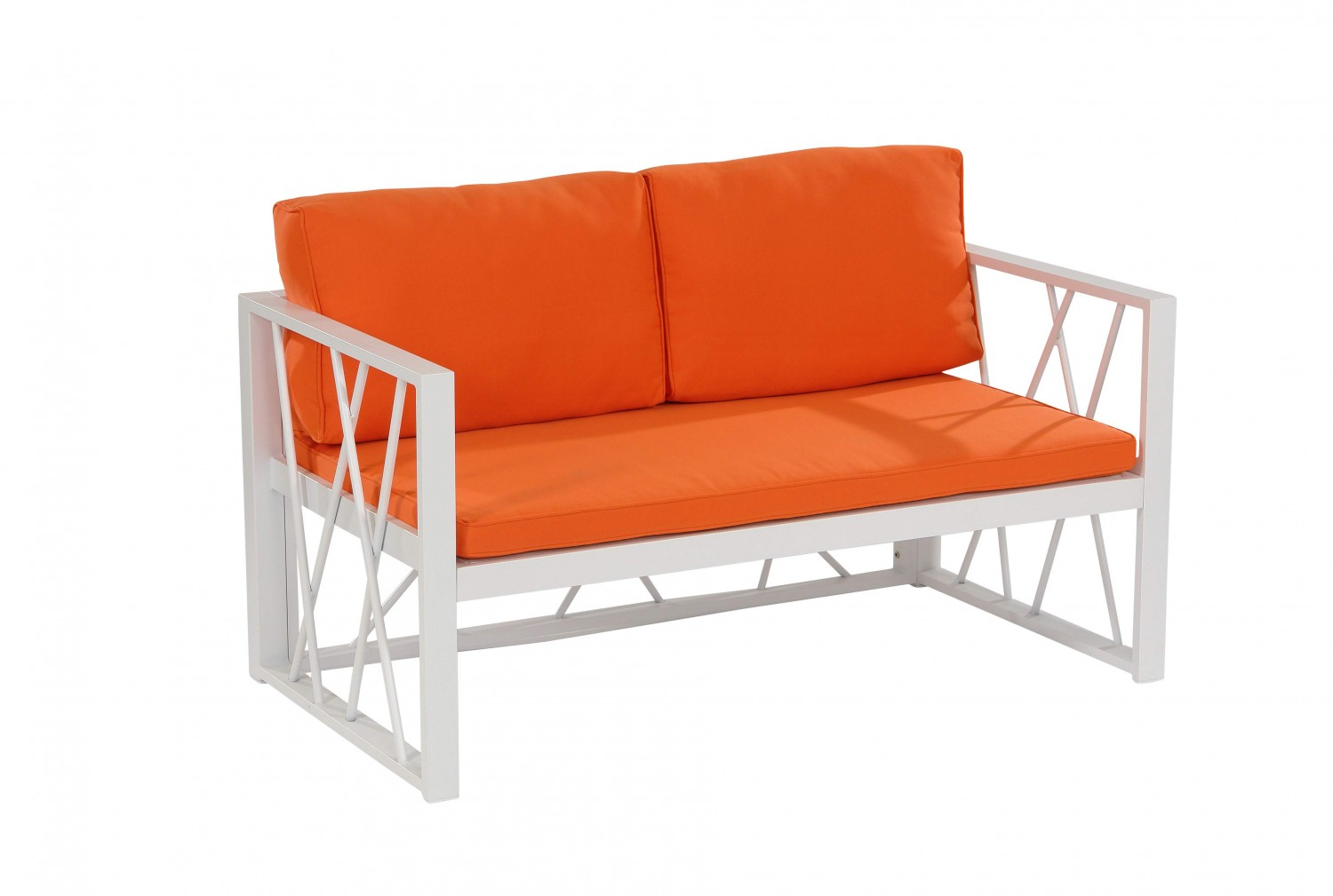 santorin orange aluminium loungegruppe loungegruppen batavia gartenm bel onlineshop f r. Black Bedroom Furniture Sets. Home Design Ideas